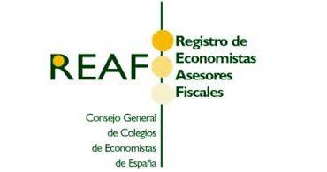 REAF-Registro economistas asesores fiscales