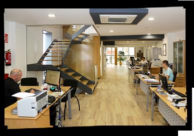 Interior Oficina Asemega